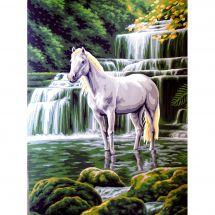 Canovaccio antico - Collection d'Art - La cascata