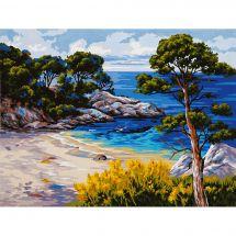 Canovaccio antico - Collection d'Art - Paesaggio marino