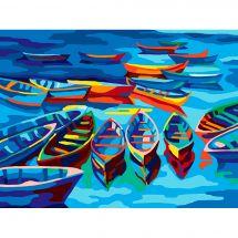 Canovaccio antico - Collection d'Art - Le barche