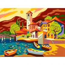 Canovaccio antico - Collection d'Art - Il piccolo porto