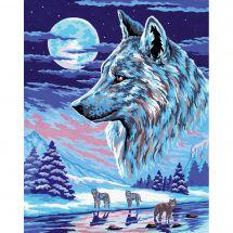 Canovaccio antico - Collection d'Art - La muta di lupi