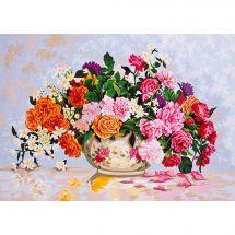 Canovaccio antico - Collection d'Art - Vaso di fiori