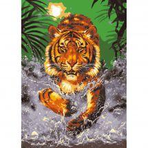 Canovaccio antico - Collection d'Art - La tigre