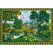Canovaccio antico - Collection d'Art - Verde al ponte