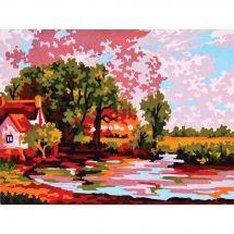 Canovaccio antico - Collection d'Art - Paesaggio rurale