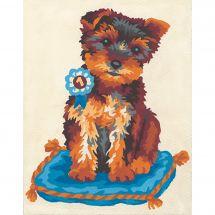 Kit di tela per bambini - Collection d'Art - Coussin du chien