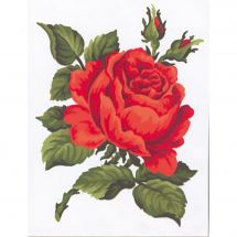 Kit di tela per bambini - Collection d'Art - Rosa Rosso