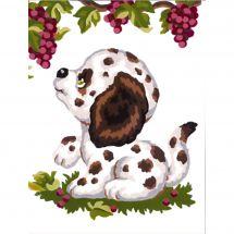 Kit di tela per bambini - Collection d'Art - Cucciolo