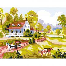 Kit di tela per bambini - Collection d'Art - La fattoria