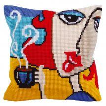 Kit cuscino fori grossi - Collection d'Art - Caffè aromatizzato