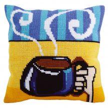 Kit cuscino fori grossi - Collection d'Art - Tazza di caffè