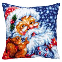 Kit cuscino fori grossi - Collection d'Art - Babbo natale
