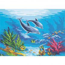 Canovaccio antico - Collection d'Art - I delfini