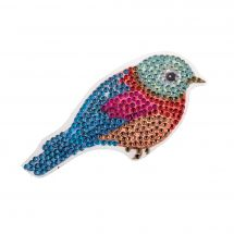 Adesivo da ricamo Diamante - Crystal Art D.I.Y - Adesivo - Uccello