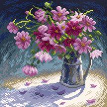 Kit ricamo diamante - RTO - Mazzo di fiori rosa