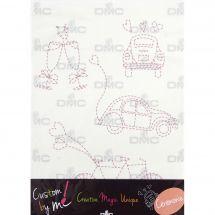 Kit di personalizzazione - DMC - Foglio magico - Custom by me