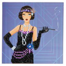 Carta con ricamo a diamante - Crystal Art D.I.Y -