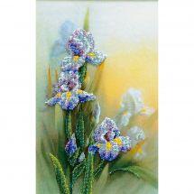 Kit di ricamo con perline - Charivna Mit - Iris