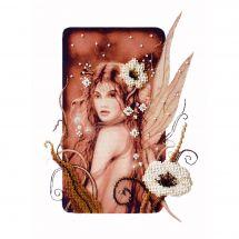 Kit di ricamo con perline - Charivna Mit - Stella della notte