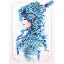 Kit di ricamo con perline - Charivna Mit - La regina della neve
