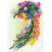 Kit di ricamo con perline - Charivna Mit - L'inviata della primavera