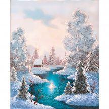 Kit di ricamo con perline - Charivna Mit - La vigilia di Natale