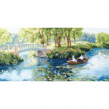 Kit Punto Croce - Charivna Mit - Vacanze nel parco in estate