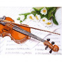 Kit punto croce con perle - Charivna Mit - Violino