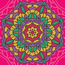 Kit ricamo diamante - Diamond Art - Mandala