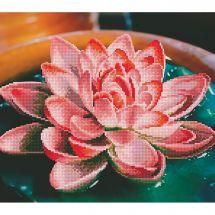 Kit ricamo diamante - Diamond Art - Lotus