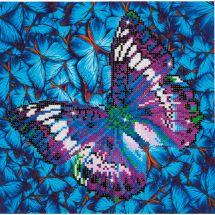 Kit ricamo diamante - Diamond Dotz - Farfalla malvone