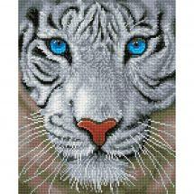 Kit ricamo diamante - Diamond Dotz - Tigre bianco