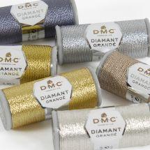 Filo metallico per ricamo - DMC - Filo metallizzato diamante grandé