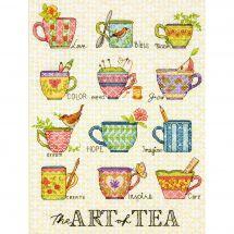 Kit Punto Croce - Dimensions - L'arte di tè