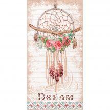Kit Punto Croce - Dimensions - Sensore di sogni floreali