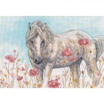 Kit Punto Croce - Dimensions - Cavallo selvaggio