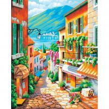 Kit di pittura per numero - Dimensions - Passi del villaggio