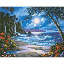 Kit di pittura per numero - Dimensions - Il paradiso sotto la luna