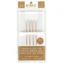 Aghi per tappezzeria - DMC - Aghi d'oro con arazzo a mano n°24