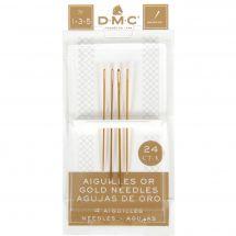 Aghi da ricamo - DMC - Aghi d'oro con arazzo a mano n°1-3-5