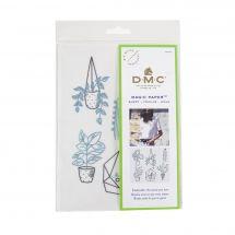 Modello per la personalizzazione - DMC - Piante di carta magiche