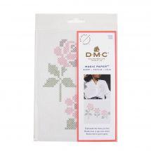 Modello per la personalizzazione - DMC - Rose di carta magica
