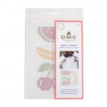 Modello per la personalizzazione - DMC - Magic paper Fruits