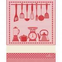 Straccio da ricamare - DMC - Cucina - Rosso
