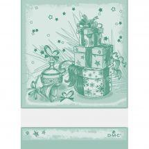 Straccio da ricamare - DMC - Regali di Natale - Verde