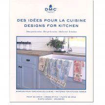 Libro diagrammi - DMC - Idee di ricamo per asciugamani da cucina