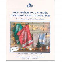 Libro diagrammi - DMC - Idee da ricamare speciale Natale