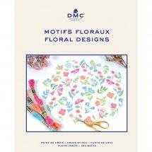 Libro diagrammi - DMC - Idee per ricamare motivi floreali
