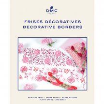 Libro diagrammi - DMC - Idee di ricamo per bordi decorativi