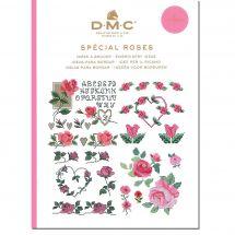 Libro diagrammi - DMC - Idee di ricamo per le rose